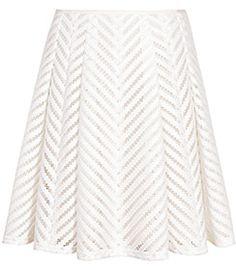 Pretty white skirt