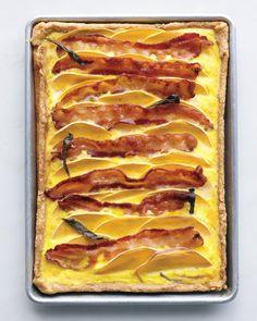 Butternut Squash and Bacon Quiche Recipe