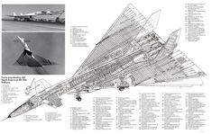 Cutaways Military and Aviation Airplane Drawing, Airplane Art, Military Jets, Military Aircraft, Concord Jet, Experimental Aircraft, Jet Engine, Aircraft Design, Aircraft Pictures