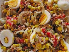 Mais Thunfisch Salat Mais-Thunfisch-Salat von HotTomBBQ auf www.de, die Thermomix® Community The post Mais-Thunfisch-Salat & Salate appeared first on Shrimp recipes . Juice Recipes For Kids, Salad Recipes For Parties, Healthy Juice Recipes, Salad Recipes For Dinner, Healthy Juices, Lunch Recipes, Appetizer Recipes, Breakfast Recipes, Healthy Corn