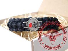 ARMBAND BLUTGRUPPE B RH+ /  BRACELET BLOOD TYPE B RH+ Belt, Bracelets, Blood, Accessories, Wristlets, Belts, Bracelet, Arm Bracelets, Bangle