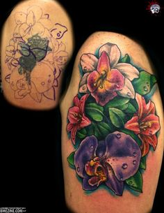 Nice Cover up tattoo