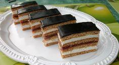 Mézes krémes (Honey and cream cake) Hungarian Recipes, Hungarian Food, Sweet Desserts, Cream Cake, International Recipes, Tiramisu, French Toast, Cheesecake, Paleo