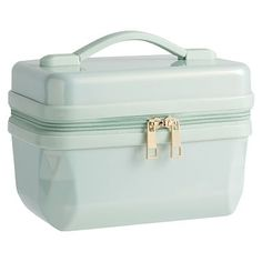 85f0188a8e7a Sleepover Mint Hard-Sided Cosmetic Case