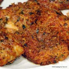Easy Oven Baked Parmesan Crusted Tilapia from 101 Cooking For Two Baked Tilapia Recipes, Fish Recipes, Seafood Recipes, Gourmet Recipes, Cooking Recipes, Healthy Recipes, Grouper Recipes, Oven Baked Tilapia, Oven Recipes