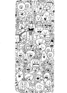 Coloriages d'Halloween - L'école de Crevette