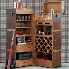 transformer une ancienne malle en bar tuto diy d co diy pinterest bar bricolage et. Black Bedroom Furniture Sets. Home Design Ideas