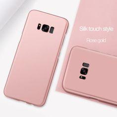 Samsung Galaxy S8 S8 Plus Slim Touch Phone Case - 10 Colors d754112e31d34