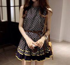 Fabulous polka dots dress