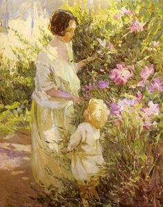 Dorothea Sharp - Picking Flowers
