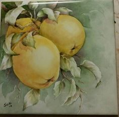 Tile I painted - painted china