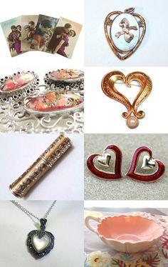 My Vintage Valentine #vogueteam #vintage #valentine
