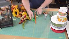 Julie Siomacco of Southern Charm Wreaths shows you how to make a lantern swag. This technique can be used for any season, holiday or occasion and on any lant...