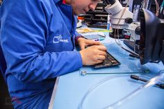 iPad #PCB is very densely populated therefore #component replacement processes requires skills and #precision #equipment. For our services please visit www.tfix.co.uk
