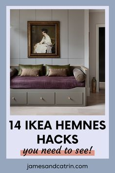 The Ikea Hemnes is a great range of furniture as it is, but these Ikea Hemnes hacks take it to a whole new level. #ikeahemneshacks #ikeahack