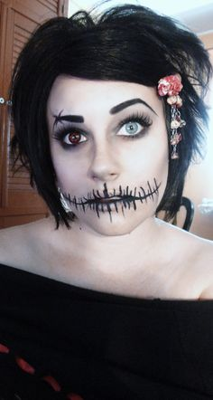 Pretty Freakin Awesome Halloween Makeup <3