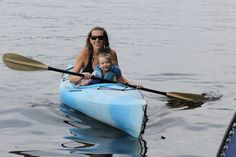 Kayaking with a toddler can be great fun but always remember that you can't control how long the fun will last!