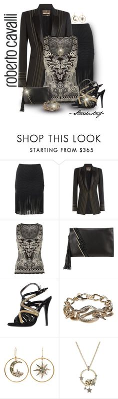 """Roberto Cavalli Total Look - Take Two"" by stardustnf ❤ liked on Polyvore featuring Trilogy and Roberto Cavalli"