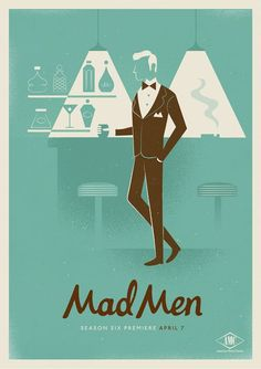 Mad Men Characters in Simple Character Design - Randommization