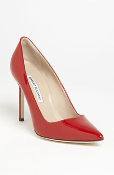 MY AWESOME BROTHER IS BUYING ME THIS! CAN'T WAIT! Manolo Blahnik 'BB' Pointy Toe Pump | Nordstrom