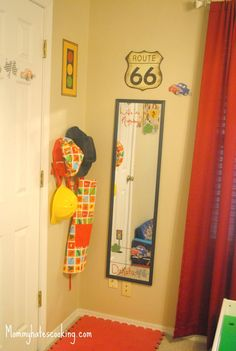 Dress Up Area for Boys