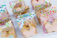 Treat Bags with Pretty Cardstock
