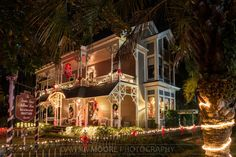 Christmas at The Williams House, Amelia Island, Florida