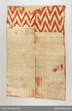 Very similar rugs also in Finland. Textiles, Textile Patterns, Textile Prints, Textile Design, Surface Pattern Design, Pattern Art, Rya Rug, Textile Fiber Art, Fabric Rug