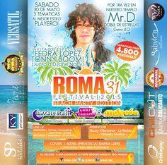 Tony Boom Roma31 Festival 2015 Beach Party Edition