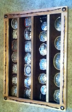 My new buckle display case!!!!