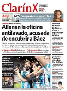 Allanan la oficina antilavado: la acusan de encubrir a Báez. Más información: http://www.clarin.com/politica/Allanan-oficina-antilavado-encubrir-Baez_0_1066093392.html