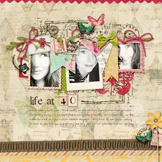 life at 40 - Scrapbook.com  ...Wendy Schultz onto Digital Art.