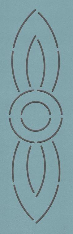 """Zion 97 2"""" - The Stencil Company"""