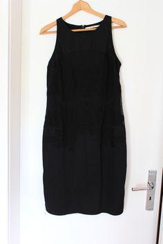 3bb7ccedf2a Schwarzes trägerloses Kleid von Part Two