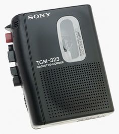 Sony TCM-323 Standard Cassette Recorder