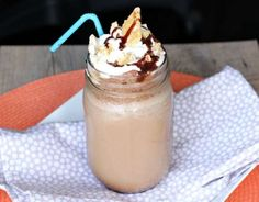 The Nutella S'more Iced Coffee Is Sinfully Succulent #chocolate #cocktails trendhunter.com