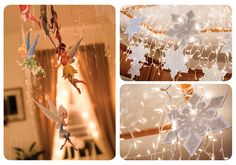Winter Fairy Periwinkle Birthday Party: Happy Lights! Photo: KH Photography