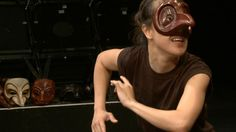 Good intro to characters of commedia. It's long, but focus on what type of character you think you are, and then look at the PHYSICAL WORK being done.
