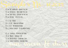 4more  Sampler No. 10/2015  {sun, moon & stars} R.E.M., Coldplay, Sia, Beatles, Stranglers, Nneka & much more