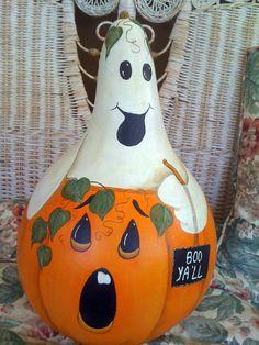 Boo Ya'll Gourd