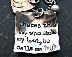 Mother and Sons Necklace Mom and sons by yourcharmedlife on Etsy
