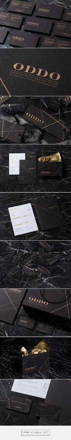 ODDO Branding on Behance   Fivestar Branding – Design and Branding Agency & Inspiration Gallery