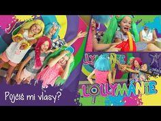 Lollymánie S02E06 - Půjčíš mi vlasy? - YouTube Kawaii, Entertainment, Marketing, Youtube, Painting, Instagram, Art, Art Background, Painting Art
