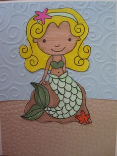 Little Mermaid in the sun  www.caguimbalcreations.weebly.com