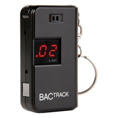 With the BACtrack Keychain Breathalyzer, you can estimate your blood alcohol content in seconds. Just flip the folding mouthpiece, blow, and your estimated BAC appears instantly. Easy-to-read 2 digit LED display Breath alcohol tester Safes For Sale, Gadgets, Keychain Design, Alcohol Content, Hacks, Cheap Gifts, Bar Accessories, Digital Alarm Clock, Ebay
