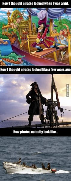 How pirates actually look