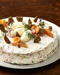 Sandwich Cake, Sandwiches, Cream Cake, Cheesecakes, Food Inspiration, Camembert Cheese, Panna Cotta, Food And Drink, Pie