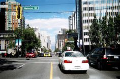 Disposable Camera Project | Burrard St. & Nelson St.