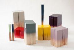 dip dyed furniture - Google Search