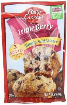Betty Crocker Supermoist Triple Chocolate Fudge Cake Mix